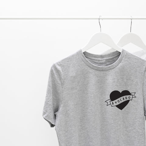 Heart Avocado T-Shirt