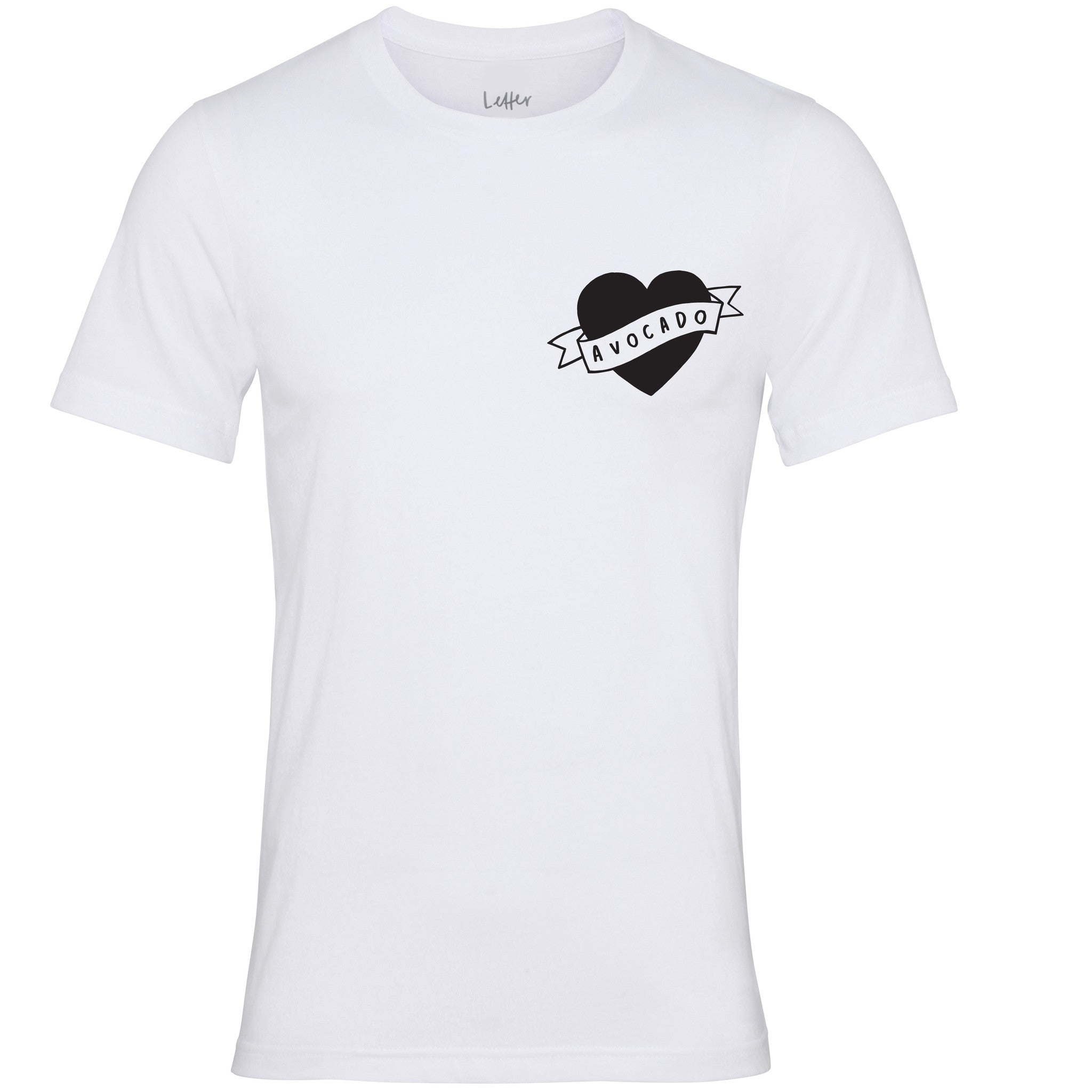 5564b4431 Heart Avocado T-Shirt - Love Avocado Tee - Typography Clothing ...