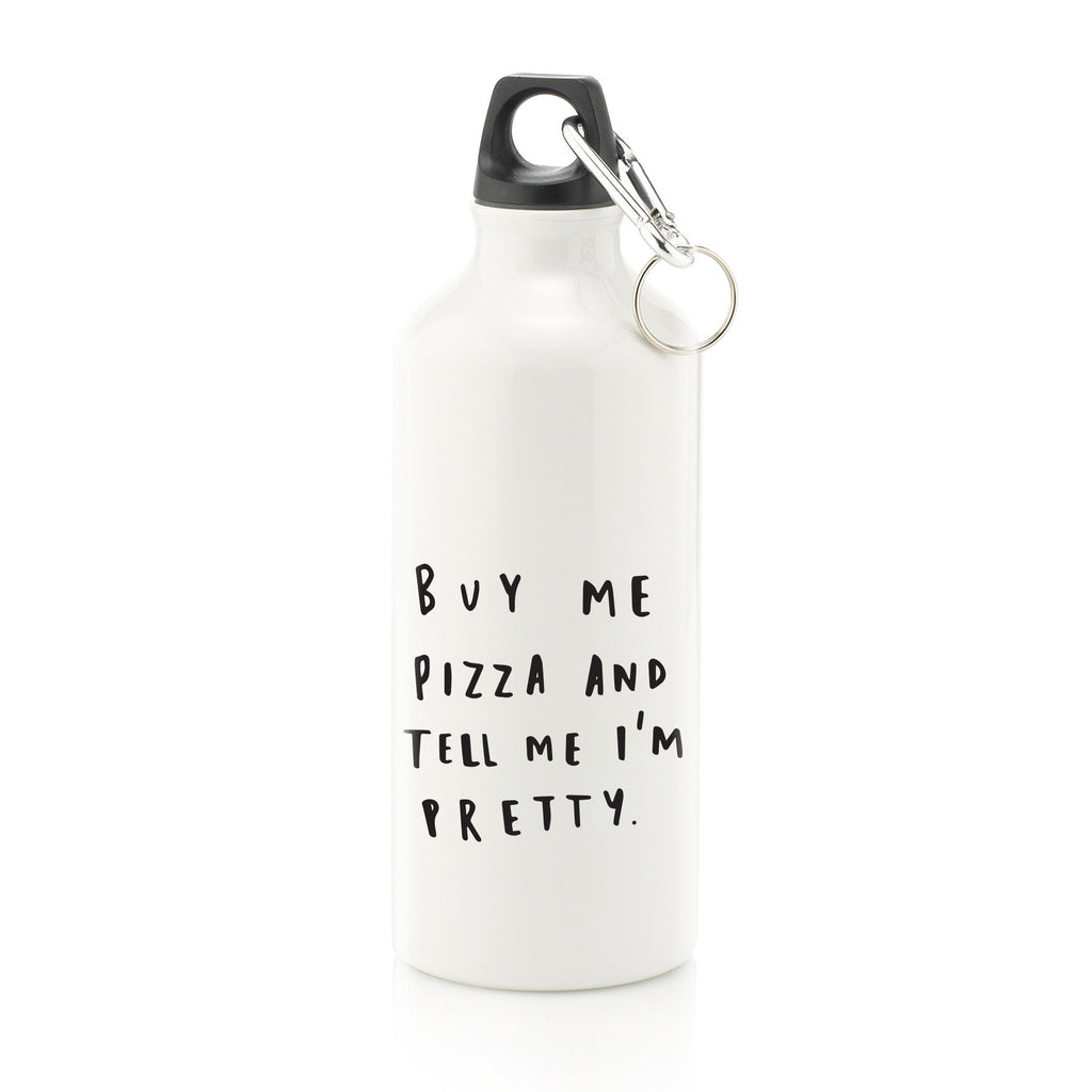 Buy Me Pizza Water Bottle