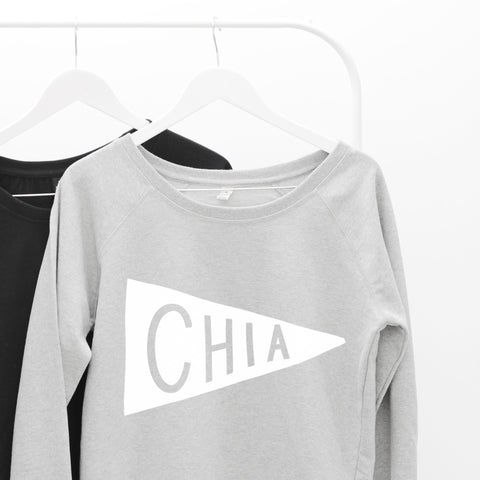 Chia Women's Scoop Neck Sweatshirt