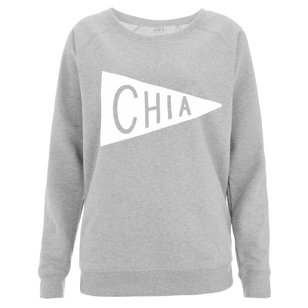 Grey Chia Sweater