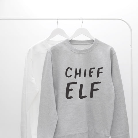 Chief Elf Unisex Sweater