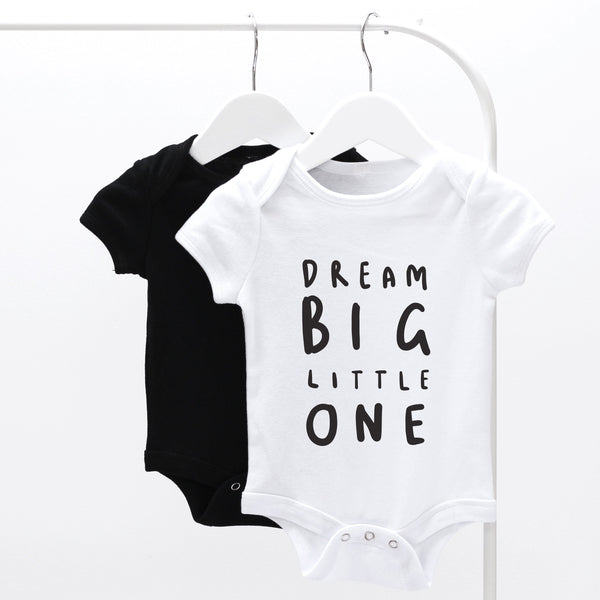 Dream Big Little One Baby Grow
