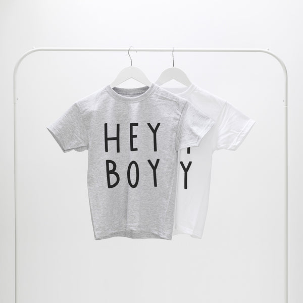 hey boy child's tee