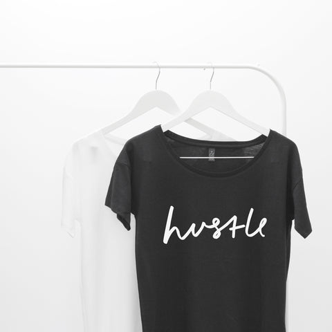 Hustle Oversized Women's T-Shirt