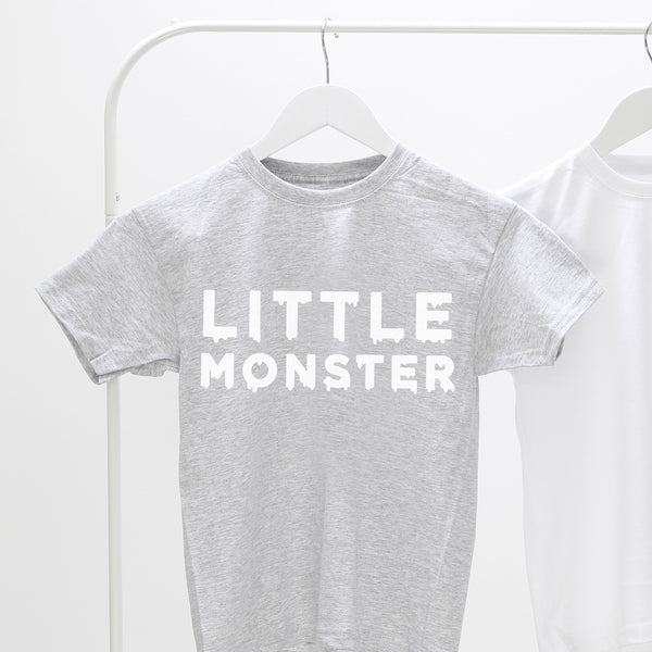little monster child's t shirt