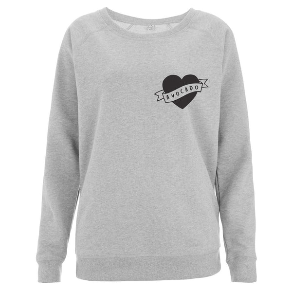 Love Avocado Women's Scoop Neck Sweatshirt