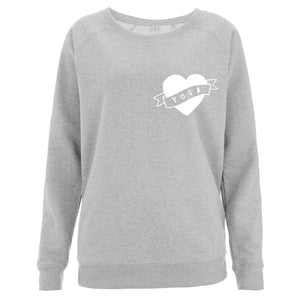 Love Yoga Women's Scoop Neck Sweatshirt