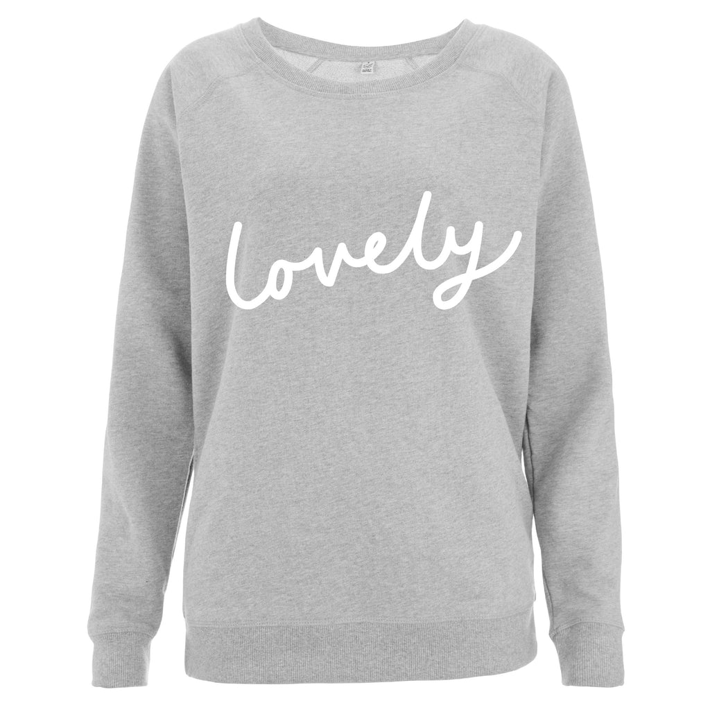 Lovely Women's Scoop Neck Sweatshirt