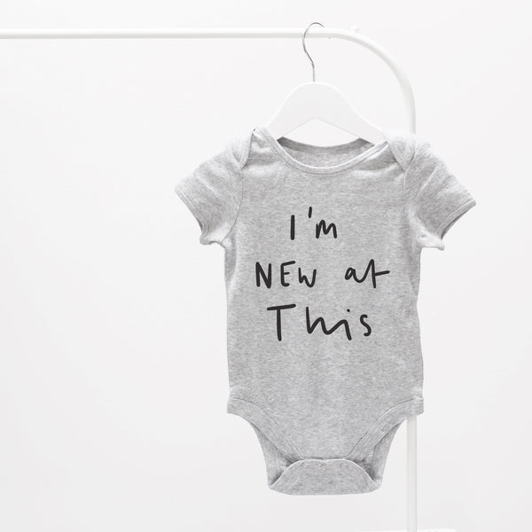 I'm new at this baby grow