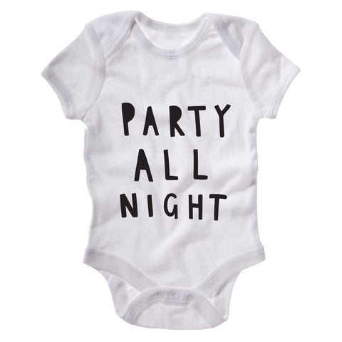 Party All Night Baby Grow