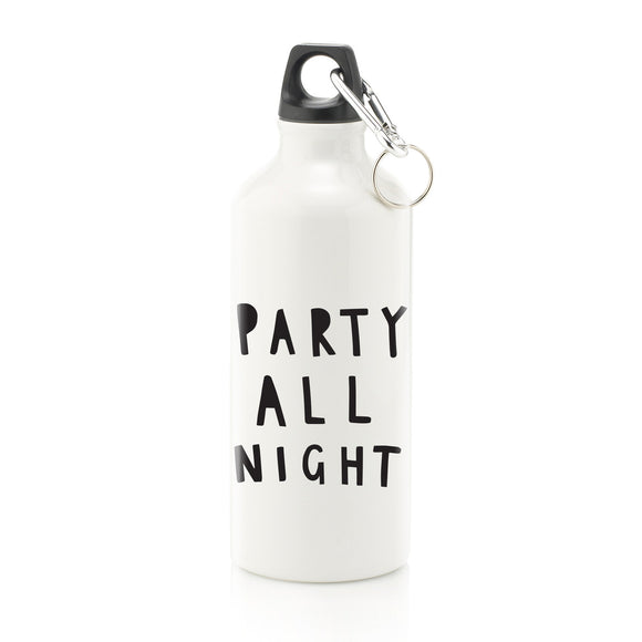 Party All Night Water Bottle