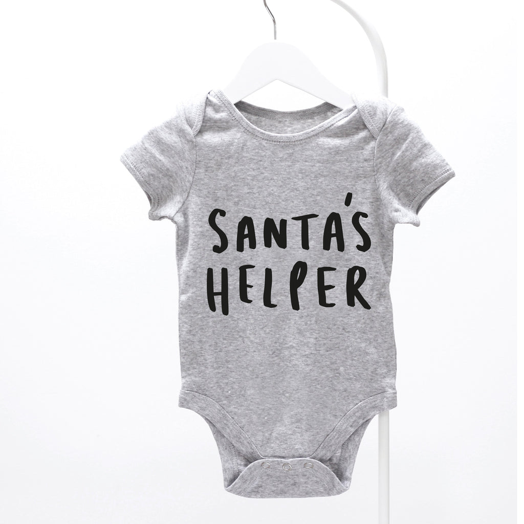 Santa's Helper Baby Grow