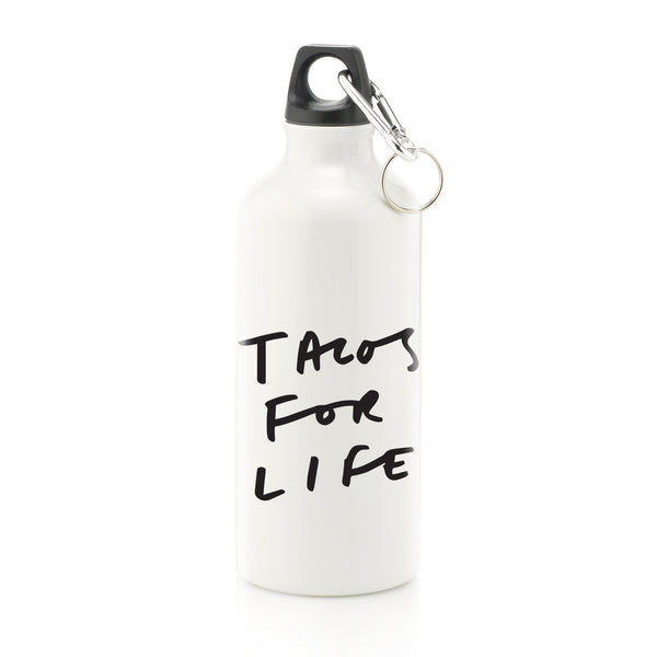 Tacos For Life Water Bottle