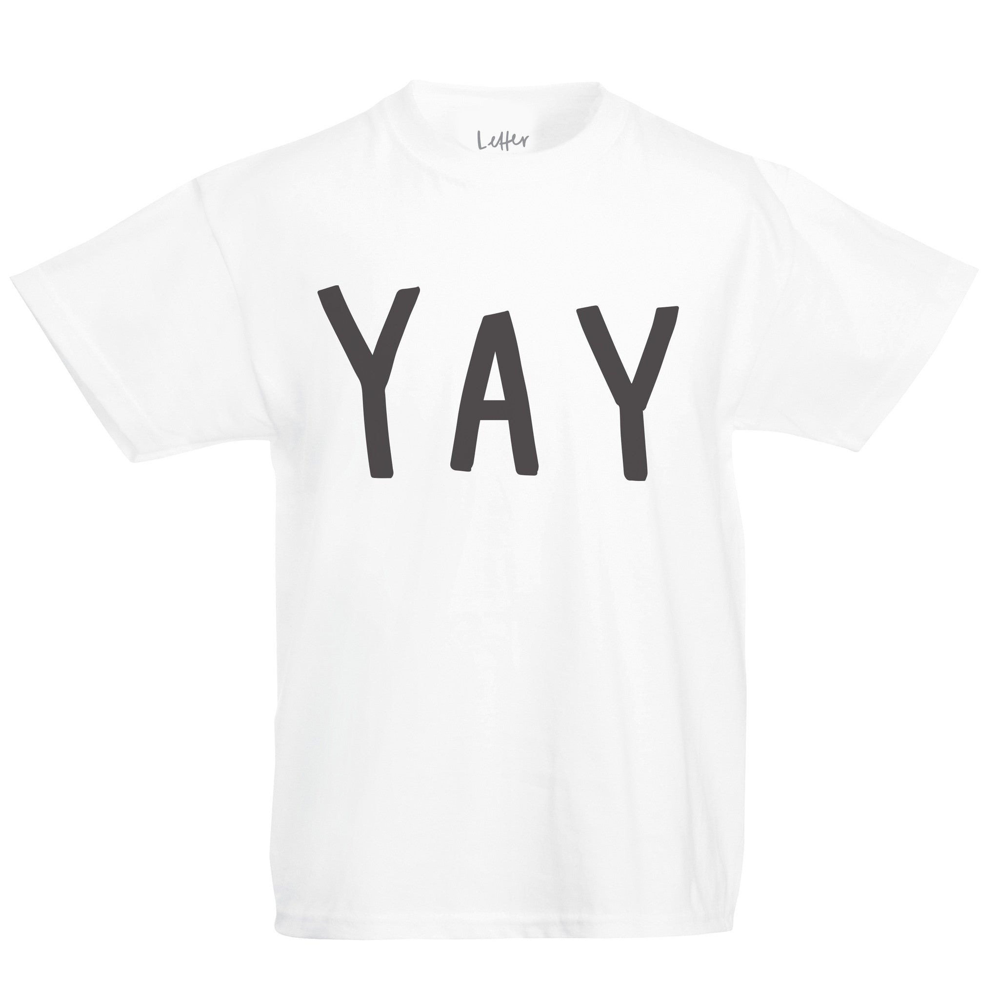 children's yay t shirt