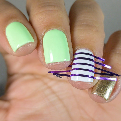 St  Patrick's Day Mani Pictorial | heroine nyc