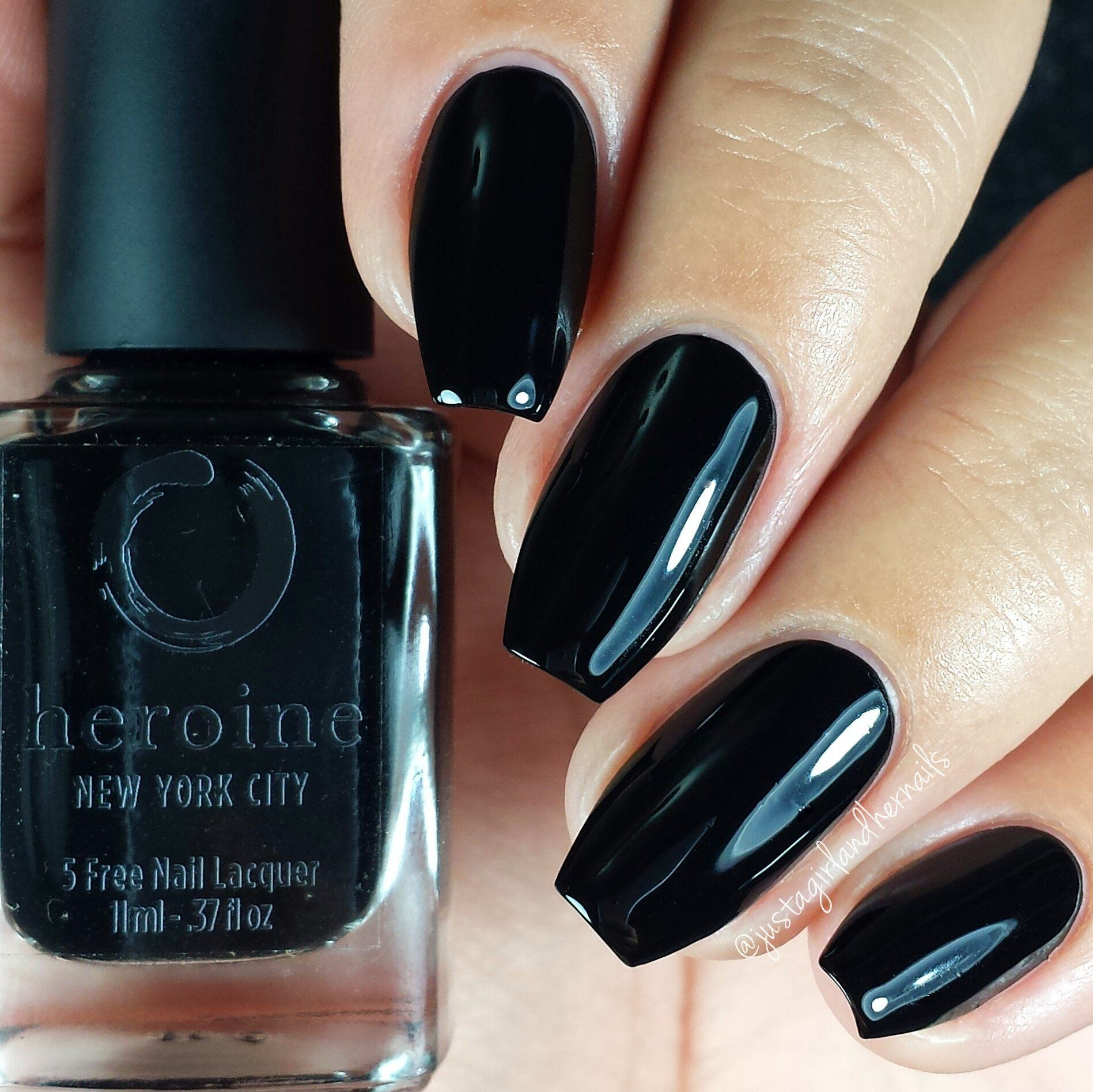 LIGHTS OUT Nail Polish heroine