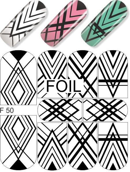 Water Decals - Geometric Black