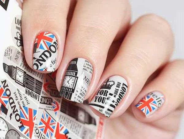Water Decals - London Calling
