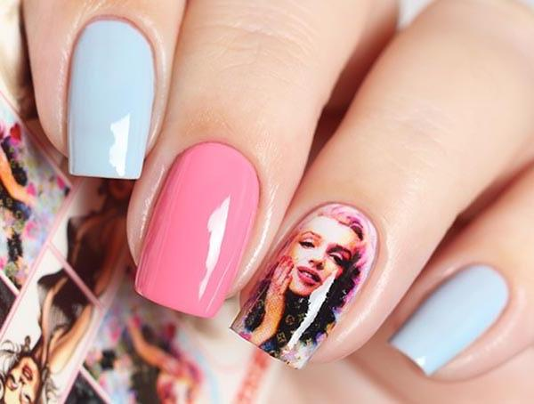 Water Decals - Marylin Pop Art