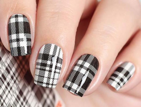 Water Decals - Gingham