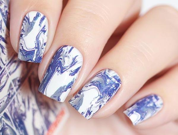 Water Decals - Blue Marble