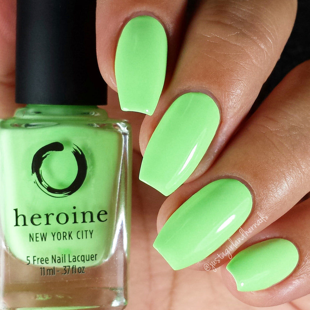 neon nail polish set | THE NEONS by heroine.nyc | heroine.nyc
