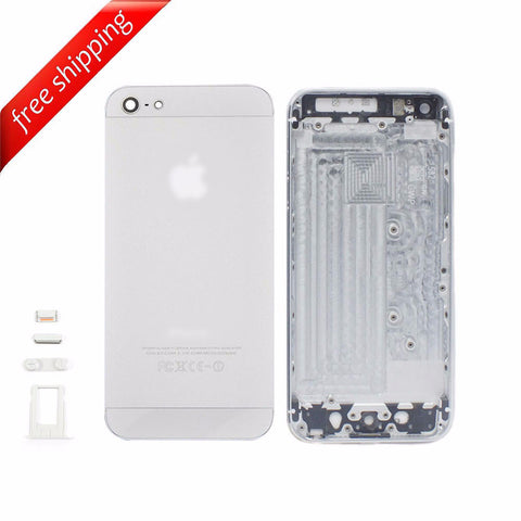 Back Housing Replacement Battery Case Cover Rear Frame For iPhone 5 - White