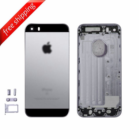 Back Housing Replacement Battery Case Cover Rear Frame For iPhone SE - Space Gray