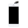 Original LCD For iPhone 5 With Spareparts Home Button, earphone, camera & Etc - White
