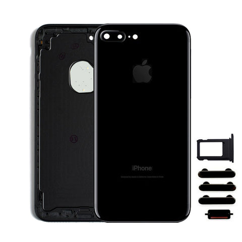 Back Housing Replacement Battery Case Cover Rear Frame For iPhone 7 Plus - Jet Black