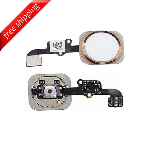 Replacement Home Button With Flex Cable For iPhone 6s Plus - Rose