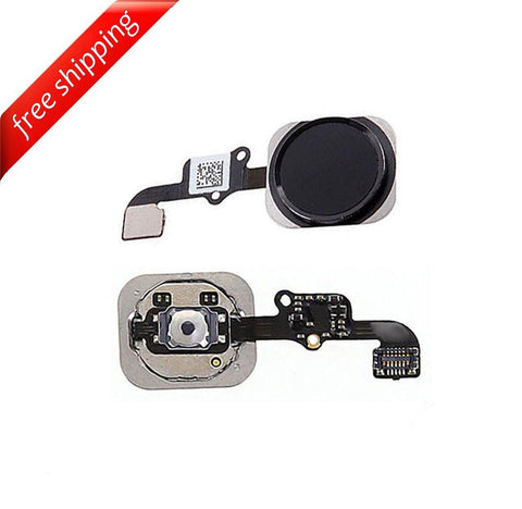 Replacement Home Button With Flex Cable For iPhone 6s - Space Grey
