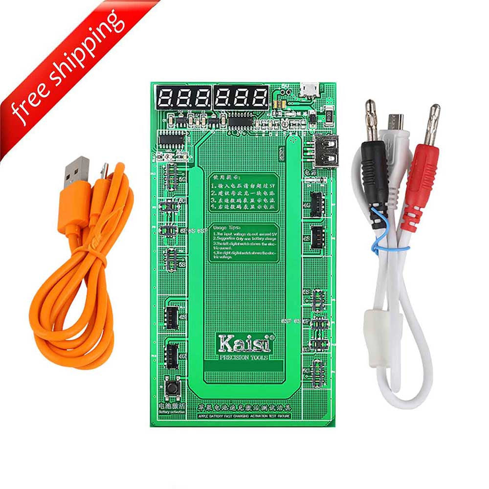 Battery Tester/Charger Activation Board For Apple Phone 4/4S/5/5C/5S/6/6s/6+/6s+