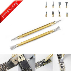 CPU BGA Chip Remove Tool Glue Disassembly Cleaning Pry Knife For iPhone Mobile Phone Motherboard