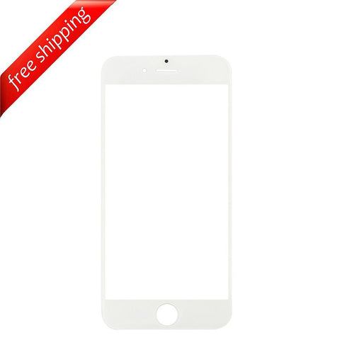 Front Outer Screen Glass Lens For iPhone 7 - White