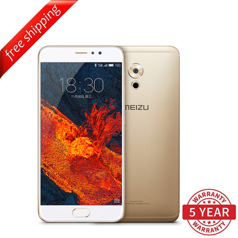 Meizu Pro 6 Plus 4+64GB (Multi-Language) - Gold