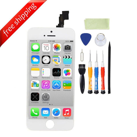 LCD For iPhone 5c Replacement Screen Touch Digitizer - White