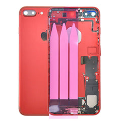 Back Housing Replacement Battery Case Cover Rear Frame with Spare Parts For iPhone 7 Plus - Red