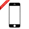 Front Outer Screen Glass Lens For Apple iPhone 5s - Black