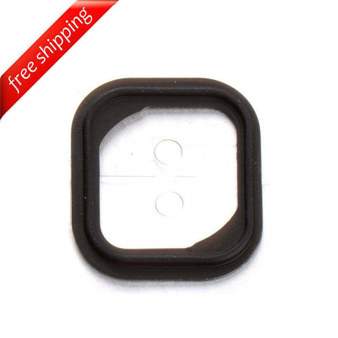 Rubber Gasket Home Button Holder Adhesive Sticker For iPhone 5s