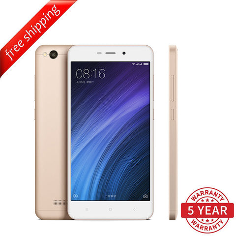 Xiaomi HongMi 4A 2GB/16GB Dual SIM (Multi-Language) - Gold