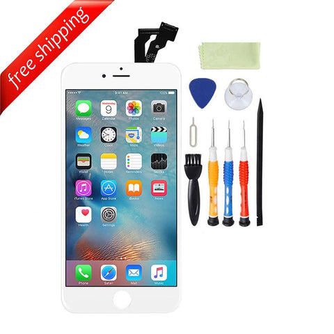 LCD For iPhone 6 Replacement Screen Touch Digitizer - White