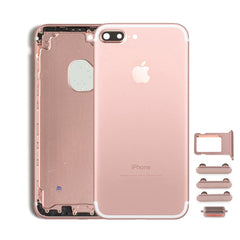 Back Housing Replacement Battery Case Cover Rear Frame For iPhone 7 Plus - Rose Gold