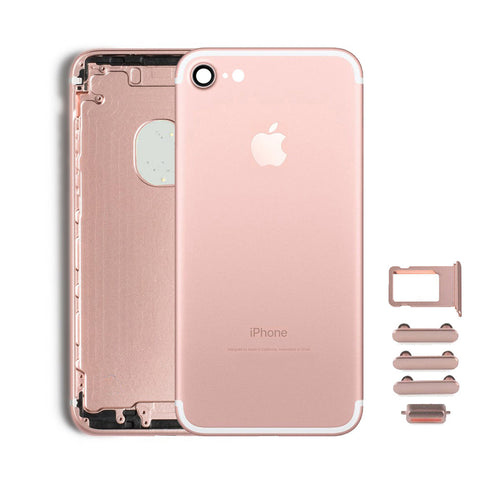 Back Housing Replacement Battery Case Cover Rear Frame For iPhone 7 - Rose Gold