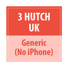 3 Hutch UK Generic (No Iphone) - Delivery Time : 5 days