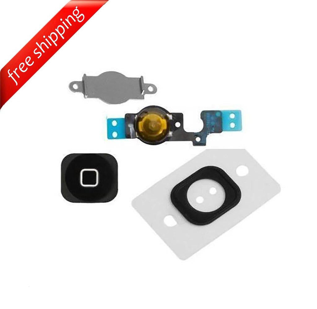 Replacement Home Button With Flex Cable and Rubber For iPhone 5c