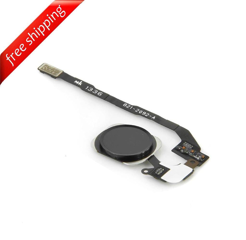 Replacement Home Button With Flex Cable For iPhone 5s - Black
