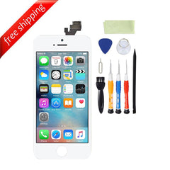LCD For iPhone 5 Replacement Screen Touch Digitizer - White