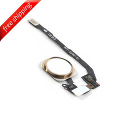 Replacement Home Button With Flex Cable For iPhone 5s - Gold